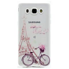 halpa Muut Samsung kotelot / kuoret-Etui Käyttötarkoitus Samsung Galaxy J7 Prime J5 Prime Kuvio Takakuori Eiffel-torni Pehmeä TPU varten J7 Prime J7 (2016) J5 Prime J5