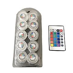 4-Pinos LED Aquário Luzes T 3 SMD 3528 10 lm RGB Laranja Vermelho Azul Amarelo Verde Roxa Rosa Violeta K Impermeável Decorativa V