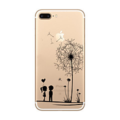 Til iPhone X iPhone 8 iPhone 8 Plus iPhone 7 iPhone 6 iPhone 5 etui Etuier Ultratyndt Transparent Mønster Bagcover Etui Leger med