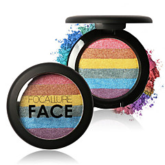 voordelige -6 Highlighters & Bronzers Droog / Glinstering / Mineraal PoederGlanzende Glitter Lipgloss / Gekleurde Lipgloss / Langdurig /