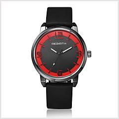preiswerte Tolle Angebote auf Uhren-Herrn Armbanduhr Schlussverkauf / / Leder Band Freizeit / Modisch Schwarz / Weiß