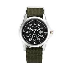 preiswerte Tolle Angebote auf Uhren-Herrn Militäruhr / Armbanduhr Kalender / Cool Leder Band Retro / Freizeit / Modisch Schwarz / Blau / Braun