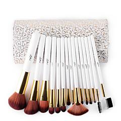 voordelige Make-up kwasten-15 Brush Sets Synthetisch haar / Nylonkwast / Zwijnsborstel Professioneel / synthetisch / Beperkt bacterieën / HypoallergeenGezicht / Lip