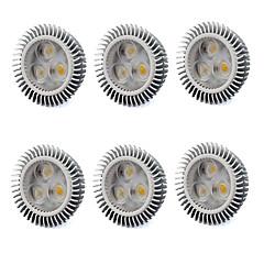 お買い得  LED 電球-480 lm GU5.3(MR16) LEDスポットライト MR16 3 LEDの ハイパワーLED 温白色 クールホワイト AC 220-240V