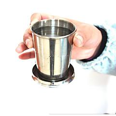 أواني الشرب الطريفة / كؤوس النبيذ / أقداح السفر 1pcs الفولاذ المقاوم للصدأ, -  جودة عالية
