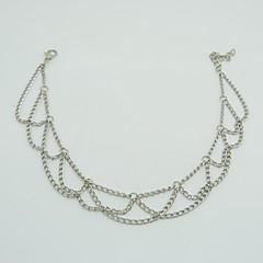 Kadın Ayak bileziği/Bilezikler alaşım minimalist tarzı Moda Avrupa Mücevher Uyumluluk Günlük