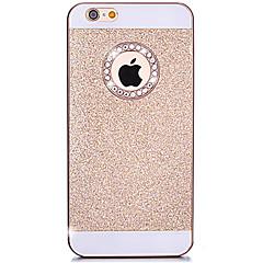 Недорогие Кейсы для iPhone X-Назначение iPhone X iPhone 8 iPhone 7 iPhone 7 Plus iPhone 6 iPhone 6 Plus Кейс для iPhone 5 Чехлы панели Стразы Задняя крышка Кейс для