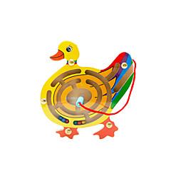 Bausteine Labyrinth & Puzzles Labyrinth Bildungsspielsachen Spielzeuge Neuartige Ente Holz Zeichentrick 1 Stücke Jungen Mädchen