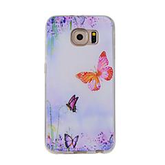 Для С узором Кейс для Задняя крышка Кейс для Бабочка Мягкий TPU для Samsung Note 5 / Note 4 / Note 3