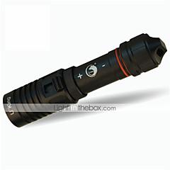 billige Dykningslygter-U'King ZQ-WXK9 Dykningslygter LED 1200LM lm 1 Tilstand Cree XM-L2 Mini Justerbart Fokus Vandtæt Komapkt Størrelse Nemt at bære