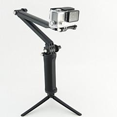 Telescopic Pole 一脚 三脚 取付方法 多機能 ために アクションカメラ ローライアクションカム420 ローライアクションカム410 Gopro 5/4/3/3+/2/1 軍隊 ダイビング