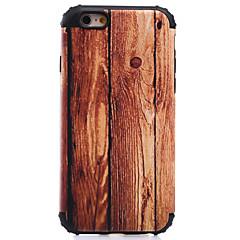 Недорогие Кейсы для iPhone 5-Кейс для Назначение Apple iPhone 8 iPhone 8 Plus Кейс для iPhone 5 iPhone 6 iPhone 7 Защита от удара С узором Кейс на заднюю панель