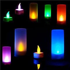 お買い得  マジック用品-LED照明 おもちゃ 円筒形 プラスチック メタル 女の子 男の子 1 小品