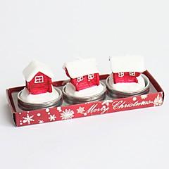 2016 패션 새로운 이동식 빈티지 참신 크리스마스 트리 산타 클로스 신발 촛불 상자 스타일