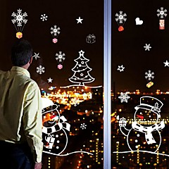 Karácsony / Rajzfilm / Ünneő Falimatrica Repülőgép matricák Dekoratív falmatricák / Esküvő-matricák,PVC AnyagEltávolítható /