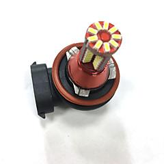 Недорогие Противотуманные фары-Автомобиль Лампы SMD 3014 Светодиодная лампа Противотуманные фары