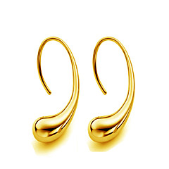 cheap Earrings-Women's Gold Stud Earrings - Drop For Wedding Party Daily Casual Sports