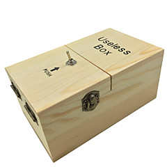 Odstresowywujący Bezużyteczne pudełko Zostaw mnie Samą Maszyną Zabawki Drewniany 1 Sztuk Urodziny Święta Bożego Narodzenia Dzień Dziecka