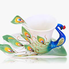 أواني الشرب اليومية / أواني الشرب الطريفة / أقداح القهوة 1 خزفي, -  جودة عالية