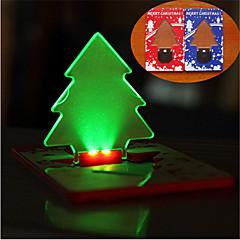 abordables Disfraces de Santa-Viaje Luz LED Descanso en Viaje Plástico