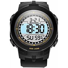 tanie Promocje zegarków-SANDA Dziecięce Modny Zegarek na nadgarstek Sportowy Wojskowy Inteligentny zegarek Cyfrowe Kwarc japoński Chronograf Wodoszczelny LED