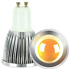 זול נורות LED-gu10 הוביל זרקור 1 cob 600lm חם לבן קר לבן 2700-3000k / 6000-6500k dimmable ac 220-240 ac 110-130v
