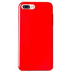 Назначение iPhone 8 iPhone 8 Plus Чехлы панели Ультратонкий Задняя крышка Кейс для Сплошной цвет Мягкий Натуральная кожа для Apple iPhone
