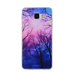 Case Kompatibilitás Samsung Galaxy A5(2016) A3(2016) Minta Hátlap Látvány Puha TPU mert A8(2016) A5(2016) A3(2016) A8 A7 A5 A3