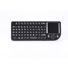 abordables Ofertas para Fans de Facebook-teclado inalámbrico Teclado multimedia con pantalla táctil del ratón para caja androide / pc / IPTV