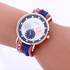 preiswerte Damenuhren-Damen Armbanduhr Modeuhr Quartz Legierung Band Retro Freizeit Blau Rot Orange Grün Gold Rosa Lila Marinenblau