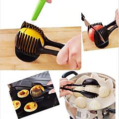 kézi citrom hagyma paradicsom szeletelő chopper vágó élelmiszer klipek konyhai eszköz