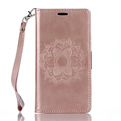 Full Body Mandala Embossed Leather Wallet for Xperia X Xperia XA