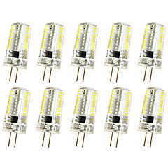 お買い得  LED 電球-10個 3W 280-300lm G4 デコレーションライト T 64 LEDビーズ SMD 3014 調光可能 温白色 / クールホワイト 220V / 85-265V