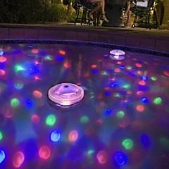 お買い得  LED アイデアライト-brelongはバスタブLEDライトの赤ちゃんの入浴浴槽カラフルな蛍光水中ライトプールライト(dc4.5)