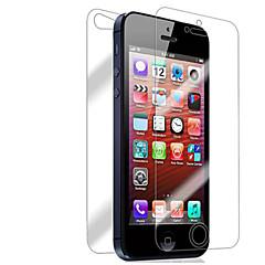 Недорогие Защитные пленки для iPhone SE/5s/5c/5-Защитная плёнка для экрана Apple для iPhone 6s iPhone 6 iPhone SE/5s 10 ед. Защитная пленка для экрана и задней панели