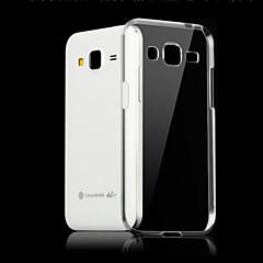 abordables Liquidación-Funda Para Samsung Galaxy Funda Samsung Galaxy Transparente Funda Trasera Un Color TPU para J7 (2016) / J7 / J5 (2016)