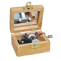 Music Box Zabawki Kwadrat Twórczy Sztuk Dla chłopców Dla dziewczynek Urodziny Dzień Dziecka Prezent