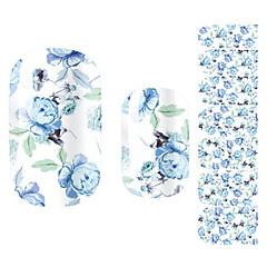 Blomma/Vackert - Finger - 3D Nagelstickers - av Andra 14.5*7.5*0.1 - cm