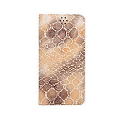 Для Кошелек / Бумажник для карт / со стендом / Флип Кейс для Чехол Кейс для Мрамор Твердый Искусственная кожа для AppleiPhone 6s Plus/6