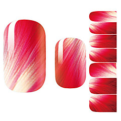 abordables Adhesivos Completos para Uñas-Dedo - Flor/Encantador - Calcomanías de Uñas 3D - Otros 14.5*7.5*0.1 - (cm)