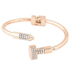 preiswerte Armbänder-Damen Manschetten-Armbänder - Strass, Diamantimitate Personalisiert, Luxus, Punk Armbänder Silber / Golden Für Alltag