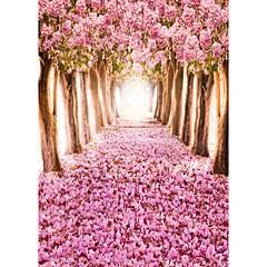 árbol de la flor fondo fotografía del estudio de telones de fondo 5x7ft