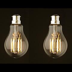 preiswerte LED-Birnen-ONDENN 2pcs 8W 800 lm B22 LED Glühlampen G60 8 Leds COB Abblendbar Warmes Weiß AC 220-240 AC 110-130 V