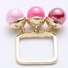 お買い得  指輪-女性用 指輪  -  合金 ワンサイズ ピンク 用途 結婚式 / パーティー