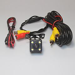 Недорогие Камеры заднего вида для авто-камера 4 вид сзади автомобиля система помощи при парковке водить ПЗС- HD зеркало заднего обратного вспять универсальный резервного