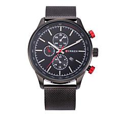 Муж. Спортивные часы Нарядные часы Модные часы Наручные часы Кварцевый Календарь сплав Группа С подвесками Повседневная Разноцветный