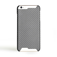 voordelige iPhone 7 hoesjes-Voor Ultradun hoesje Achterkantje hoesje Effen kleur Hard Carbonvezel voor Apple iPhone 7 Plus iPhone 7 iPhone 6s Plus/6 Plus iPhone 6s/6
