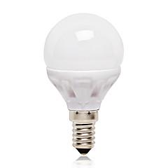 E14 LED Kugelbirnen G45 14 Leds SMD 2835 Natürliches Weiß 416lm 4000K AC 220-240V