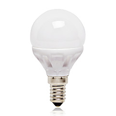 E14 LEDボール型電球 G45 14 LEDの SMD 2835 ナチュラルホワイト 416lm 4000K 交流220から240V