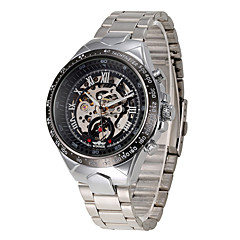Men's Sport Watch Fashion Watch Wrist watch Mechanical Watch Automatic self-winding Swiss Designer Alloy Band Vintage Casual Multi-Colored